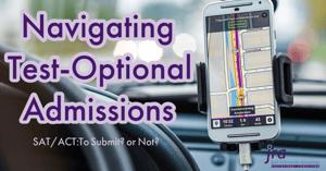 Navigating Test Optional Admissions