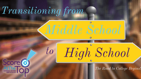 Transitioning from middle to high school