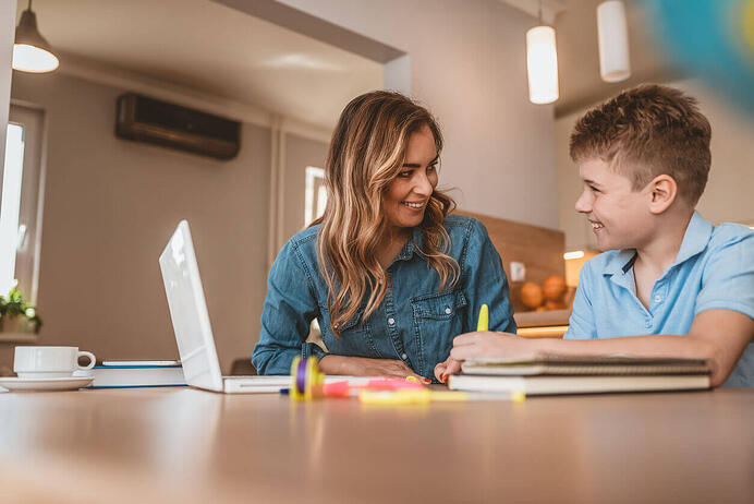 Tutor Helping Child with Dyslexia-1