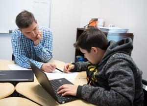Personalized math tutoring