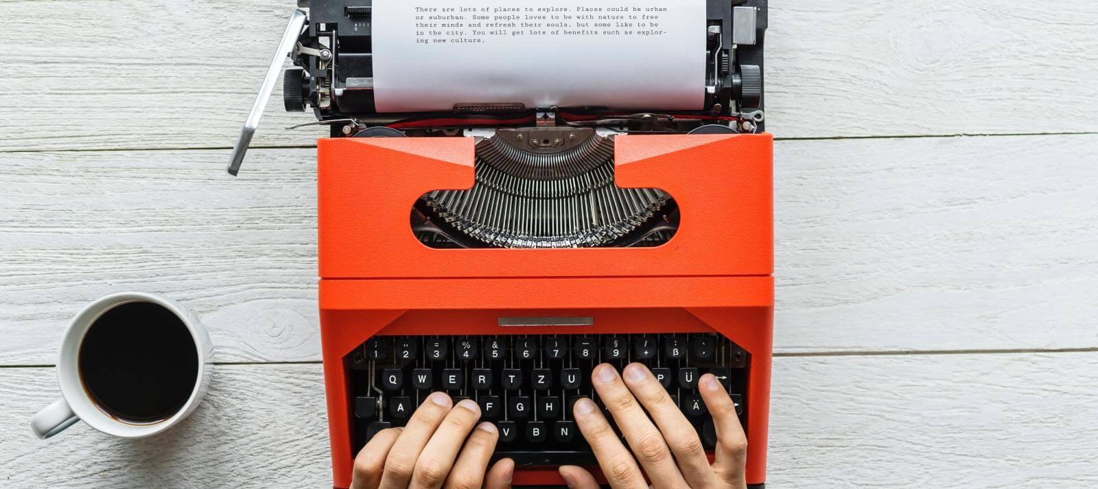 Typewriter - Score At The Top