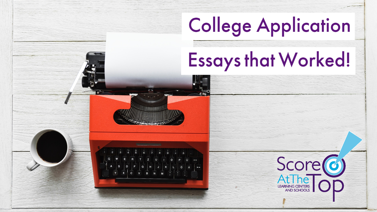 College Application Essays that got students admitted
