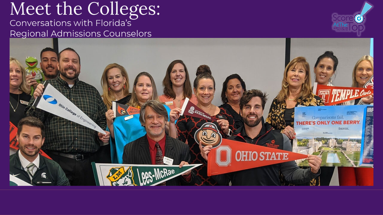 Meet Florida's Regional Admissions Counselors