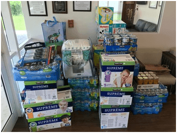 Supplies For Bahamas Donation