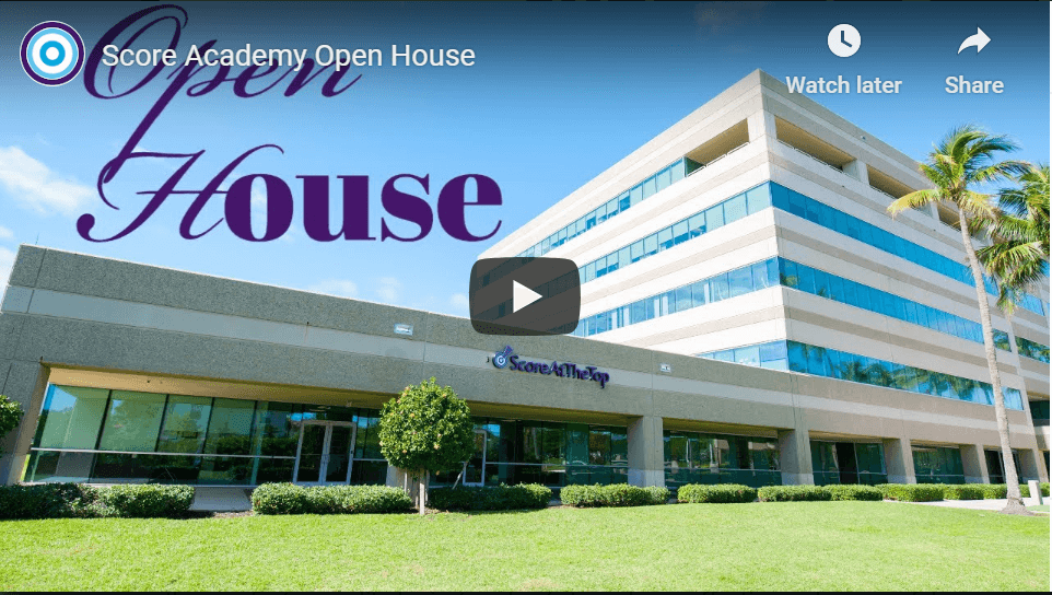 Score Academy Virtual Open House